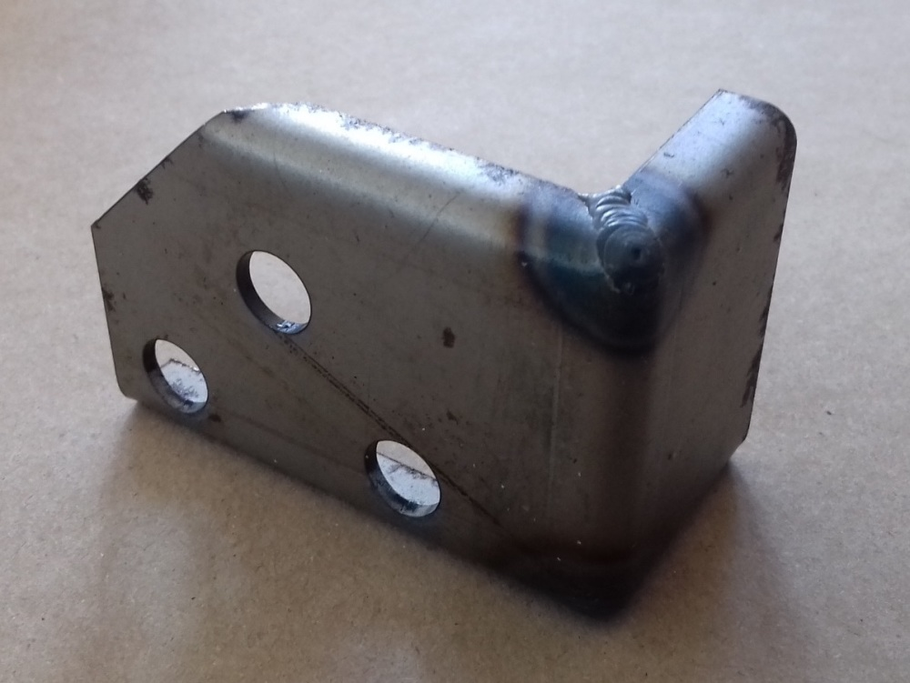 PSK 3306 - Captive Nut Plate, Door Check Rod, LH Side