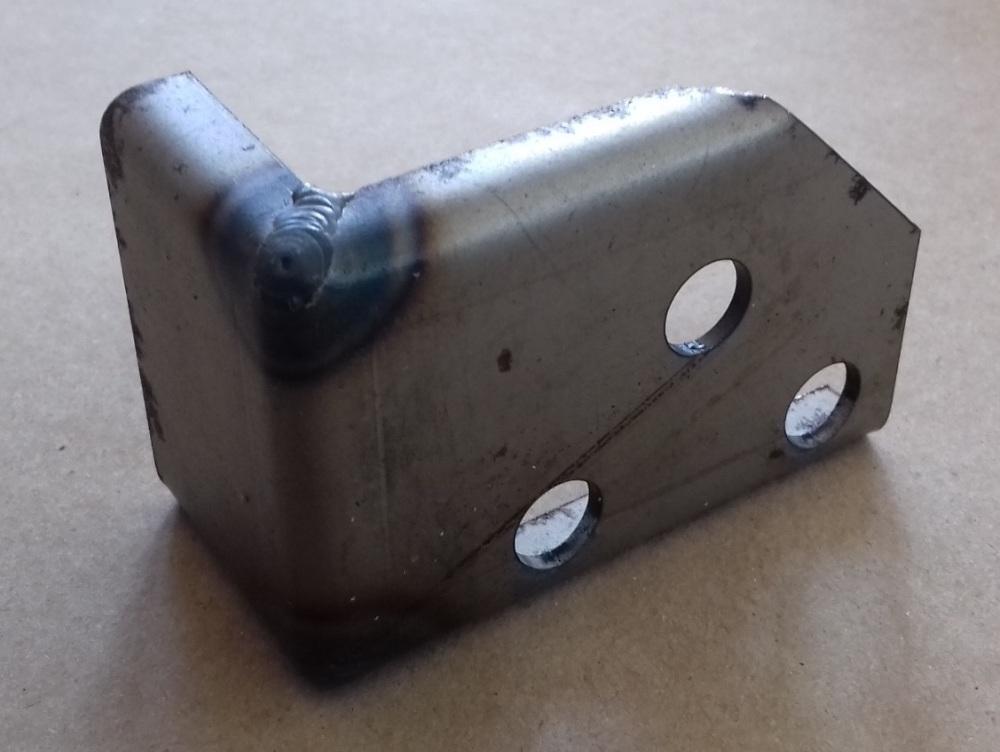 PSK 3323 - Captive Nut Plate, Door Check Rod, RH Side
