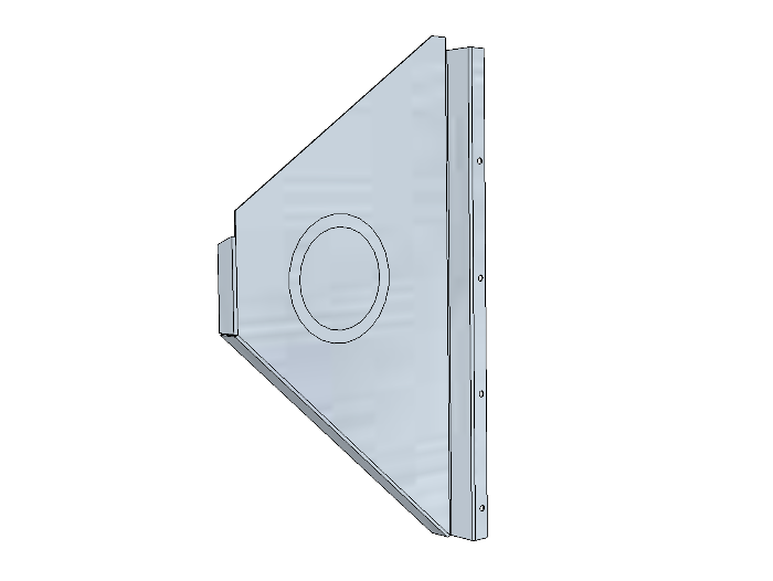 PSK 3501 - Side Panel, LH of LH Footwell