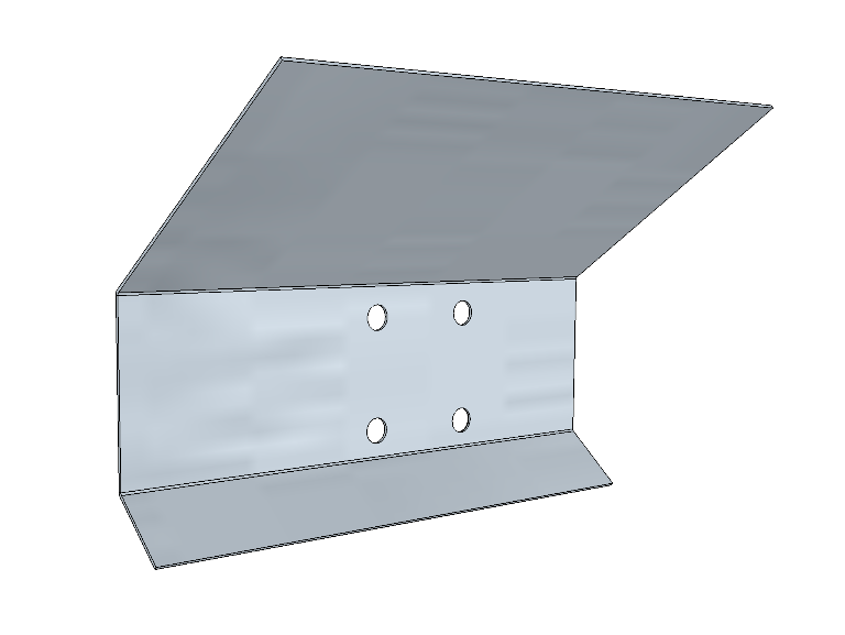 PSK 3502 - Reinforcement Plate, Footwell, 1954 to 1958