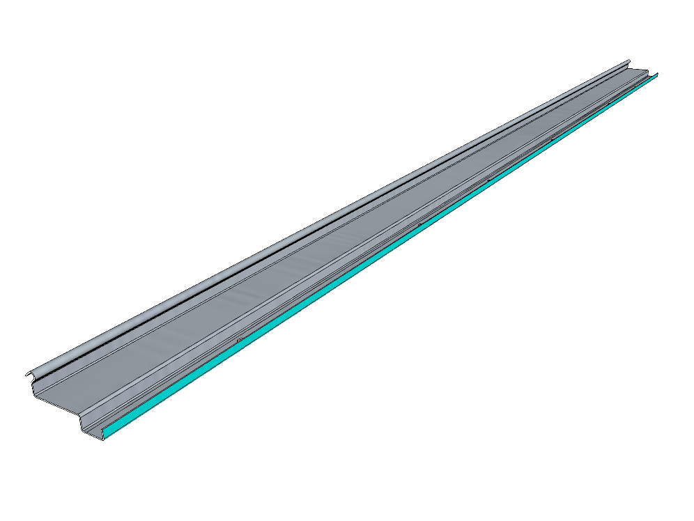 PSK 3511 - Top Drain and Weatherstrip Channel