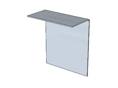PSK 3514 - Ventilator Centre Upright, Inner Panel