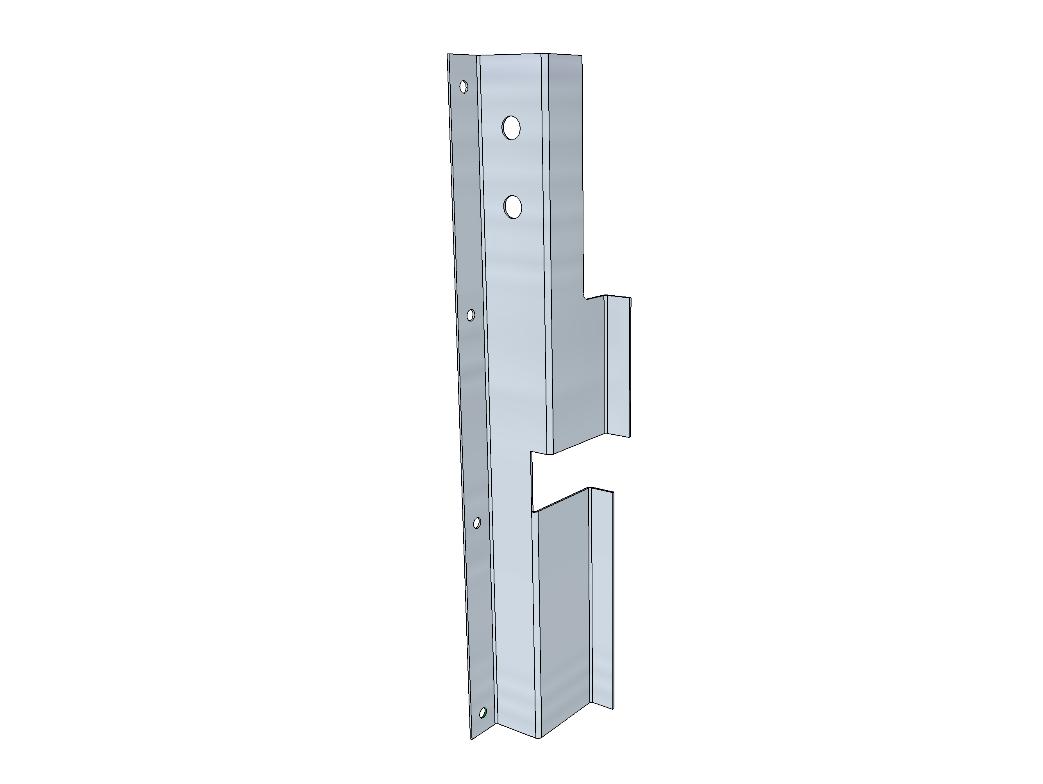 PSK 3533 - Stiffener, Top of LH Door Pillar