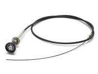 599339 - Engine Stop Cable, Series 3 WITHOUT Steering Lock, 2-1/4 Diesel RHD