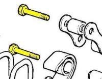 537742 - Shackle Pin, Rear End of Front Springs