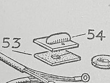 77213 - Rubber Grommet, Wiring Harness in chassis