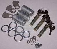 320609 (3) - Lock and Keys, Slam Type Door Latch, Set of 3