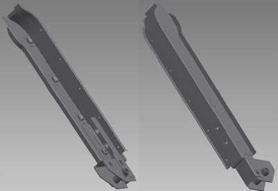 PSK 2006 - Door Pillar Sub-Assembly, RH, Type 1