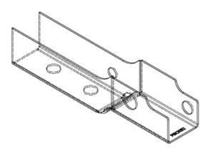 PSK 3052 - Stiffener, Lower Door Hinge, LH, Type 1