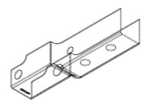 PSK 3053 - Stiffener, Lower Door Hinge, RH, Type 1