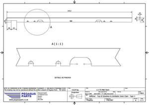 PSK 3087 - Stiffener, Top of Glove Box to Ventilator Inner Panel, Type 5