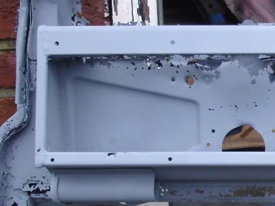 Glove Box Back Panel Pressing
