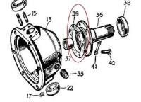 277289 - Gasket, Front Stub Axle to Swivel Pin Housing