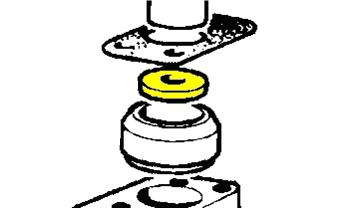 528702 - Thrust Washer, Railko Swivel Pin