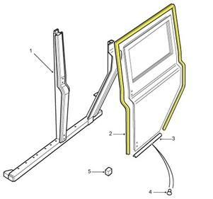 CFE 103010 - Seal, LH Rear Side Door