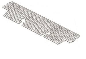 RTC 8940 SR - Floor Mat, Heavy-Duty, Second Row Seats only