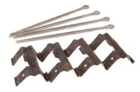 STC 8574 - Pins and Clips Kit, Rear Pads
