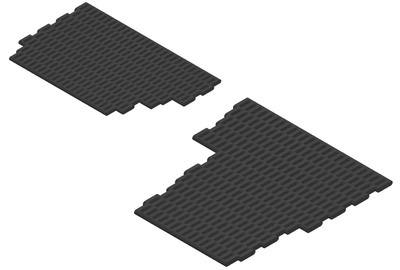 330992 - Floor Mats, Heavy-Duty Links, 4-cylinder RHD, Vehicle Set