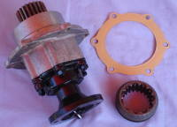 230855 SH - PTO Gearbox Unit, Non Belt Drive type