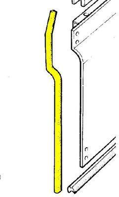395599 - Door Seal, Front LH Door, Bottom Front, Series 3 type