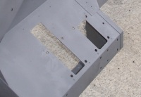CONVERSION D - Series 2/2a Bulkhead converted to Direct Acting Brake Servo, RHD footwell only
