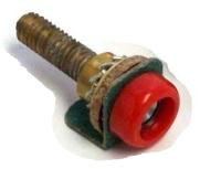 579121 - Socket for Inspection Lamp, Red