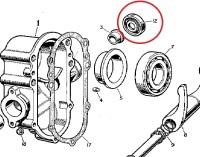 90/214787 - Oil Seal, Clutch Release Cross Shaft, RHD models only