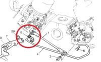 614538 - Clip, SU Choke Lever Rod