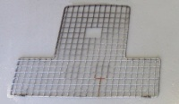 330149 (TYPE 1) - Grille for Radiator, Series 2 and 2a, 1958 to Series 2a Suffix F