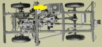 PSK 3606 - Chassis Outrigger, Front of Fuel Tank, 80
