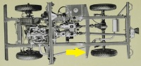 PSK 3607 - Chassis Outrigger, Front of Rear Body, LH Side, 80