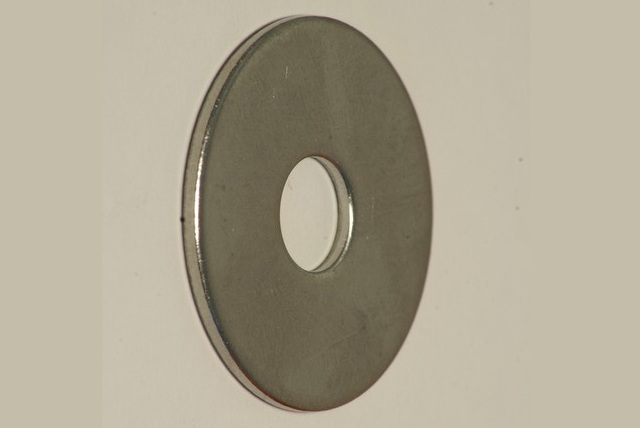 2851 SS - Special Washer for Axle Check Strap, Stainless Steel