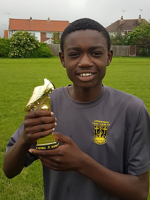 paul under 14s golden boot