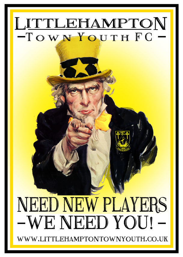 Player Recruitment Advert 2017