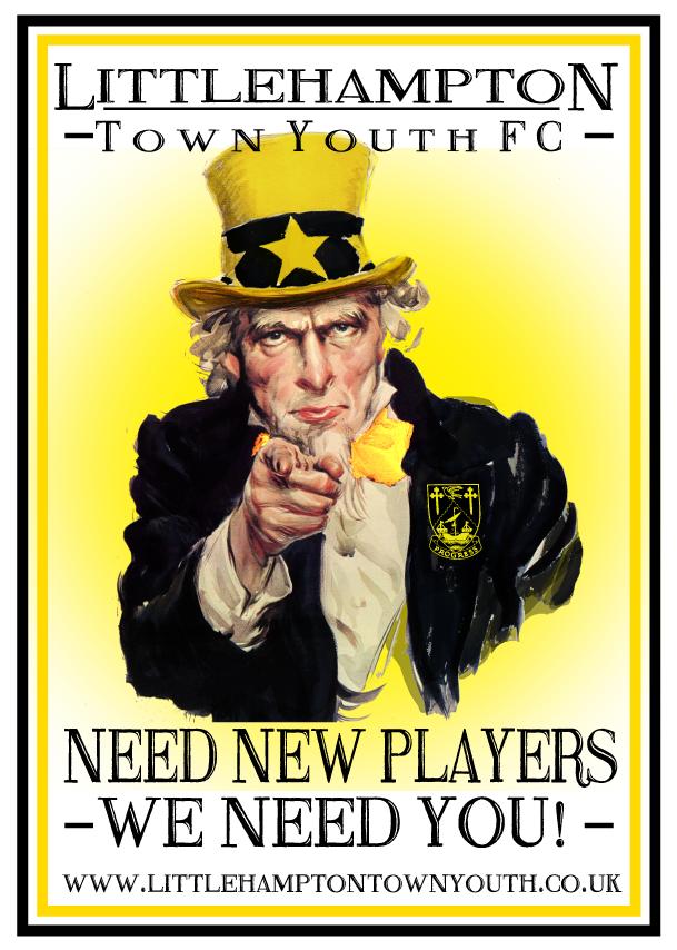 Player Recruitment Advert 2017