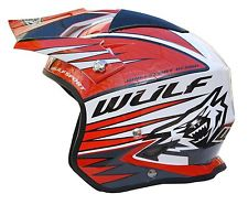 NEW - Wulfsport Tri-Action Trials Helmet