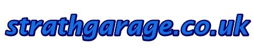 strathgarage.co.uk, site logo.