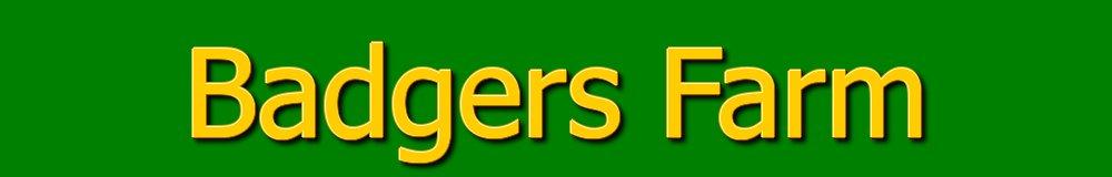 Badgers Farm, site logo.