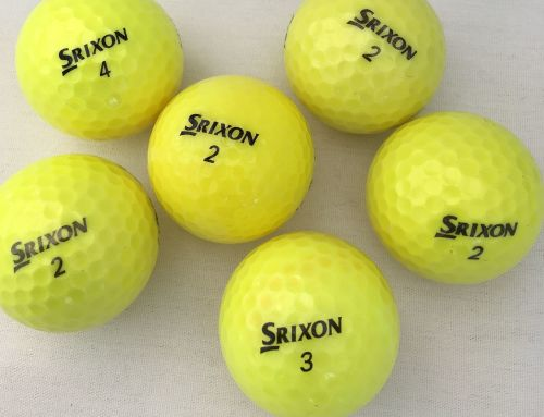 Grade A Yellow Srixon balls Dozen RRP: £12.00