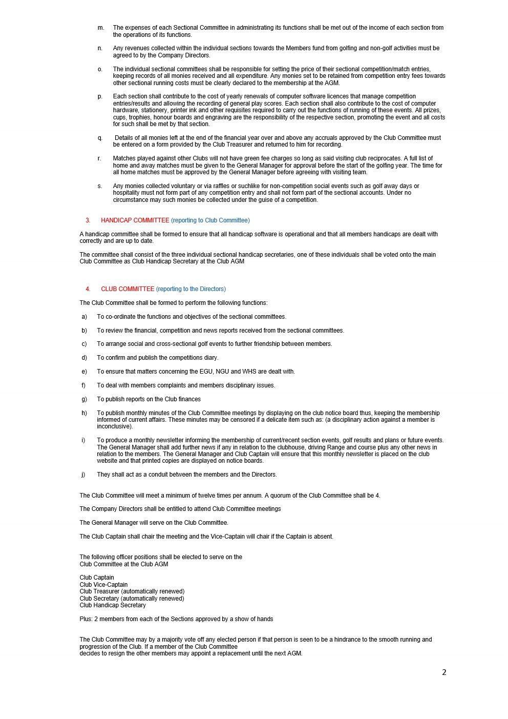 CHERWELL EDGE GOLF CLUB By Laws 2021 version FINAL_2