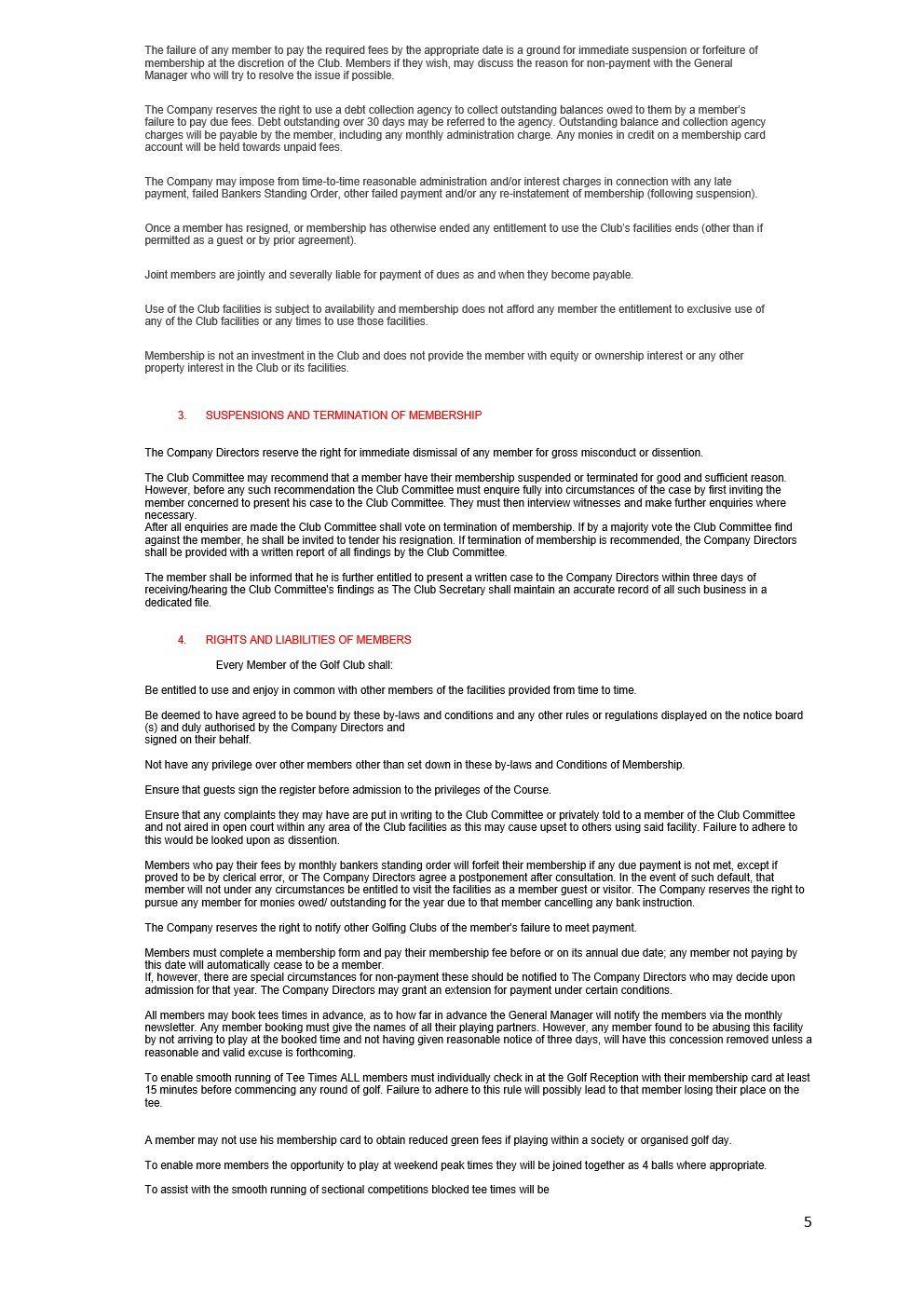 CHERWELL EDGE GOLF CLUB By Laws 2021 version FINAL_5