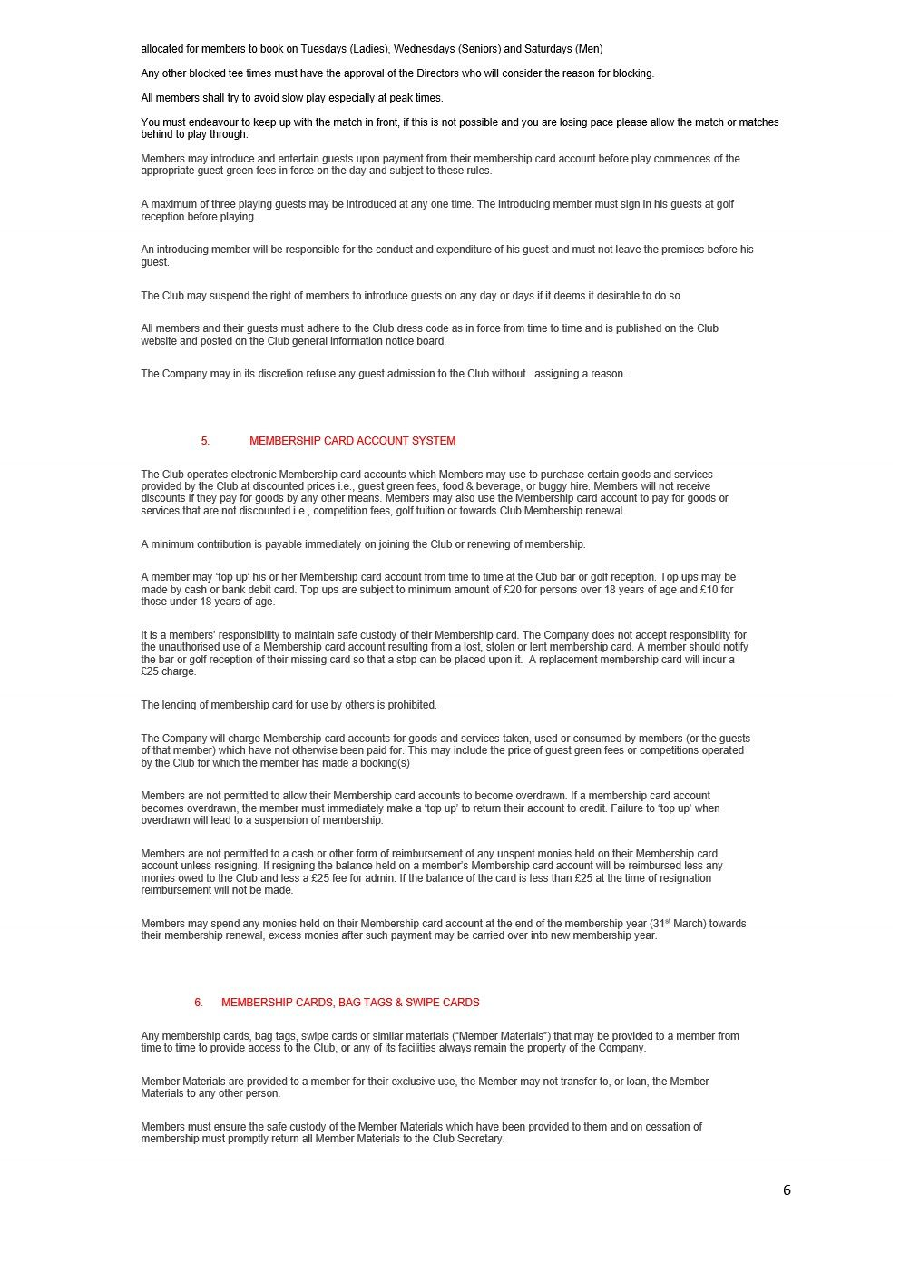 CHERWELL EDGE GOLF CLUB By Laws 2021 version FINAL_6