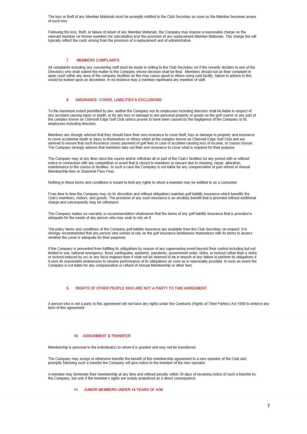 CHERWELL EDGE GOLF CLUB By Laws 2021 version FINAL_7