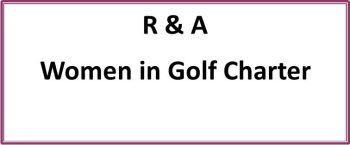 R & A Women in Golf Charter ICON