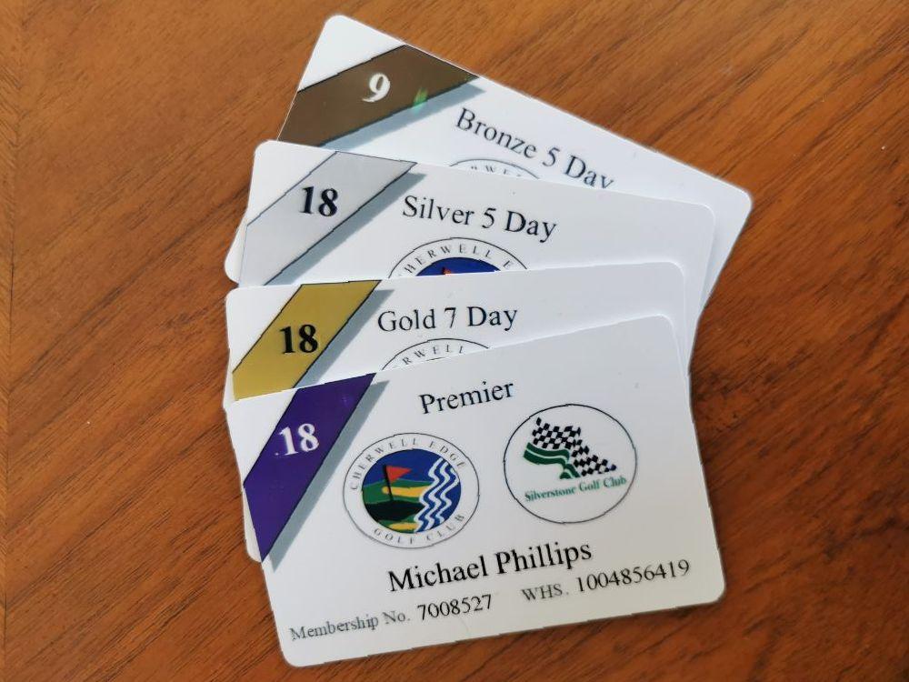 Golf Membership Application