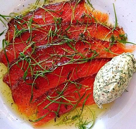 Leonies treacle cured salmon