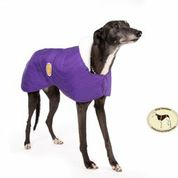 Purple Quilted Jacket for Greyhounds