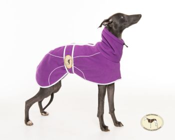Heather Fleece Housecoat for whippets