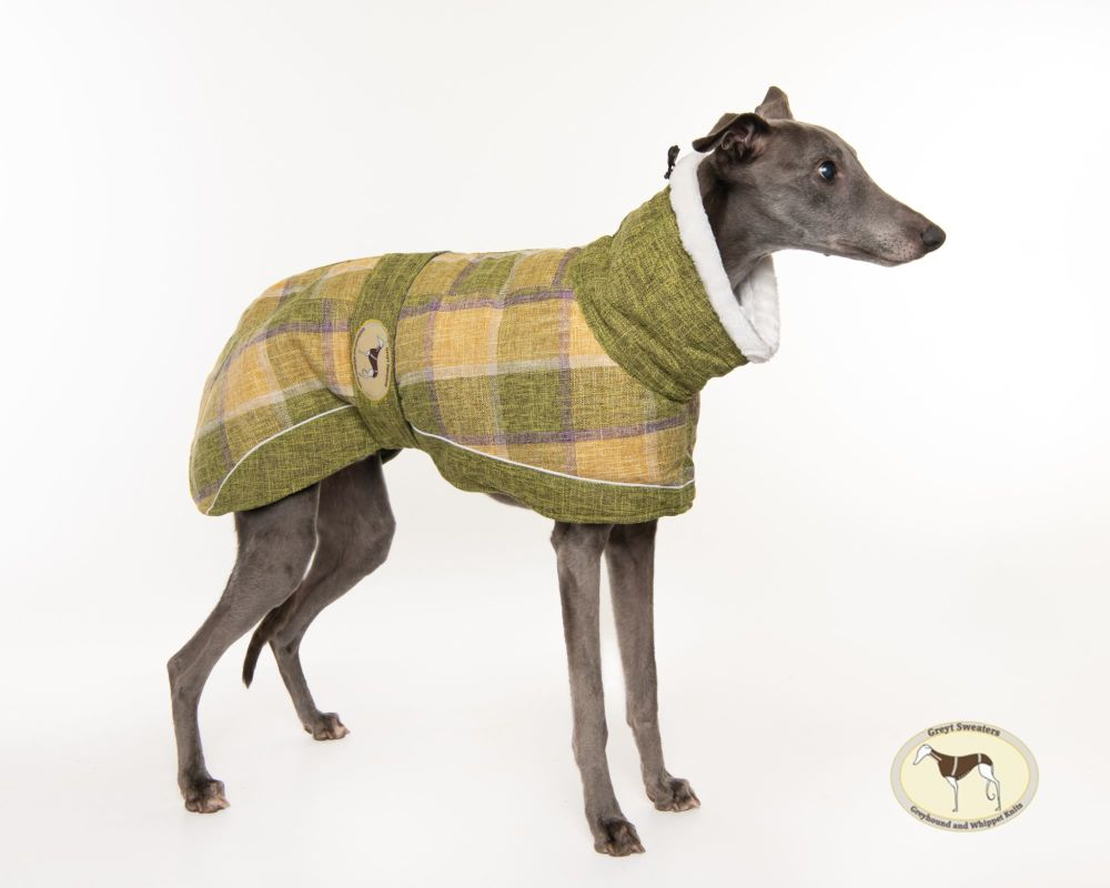 Willow Tweed Coat for Whippets
