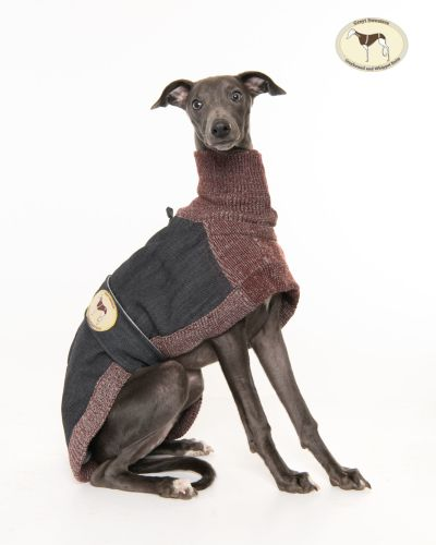 Indigo Denim/Knit Sweater for Whippets